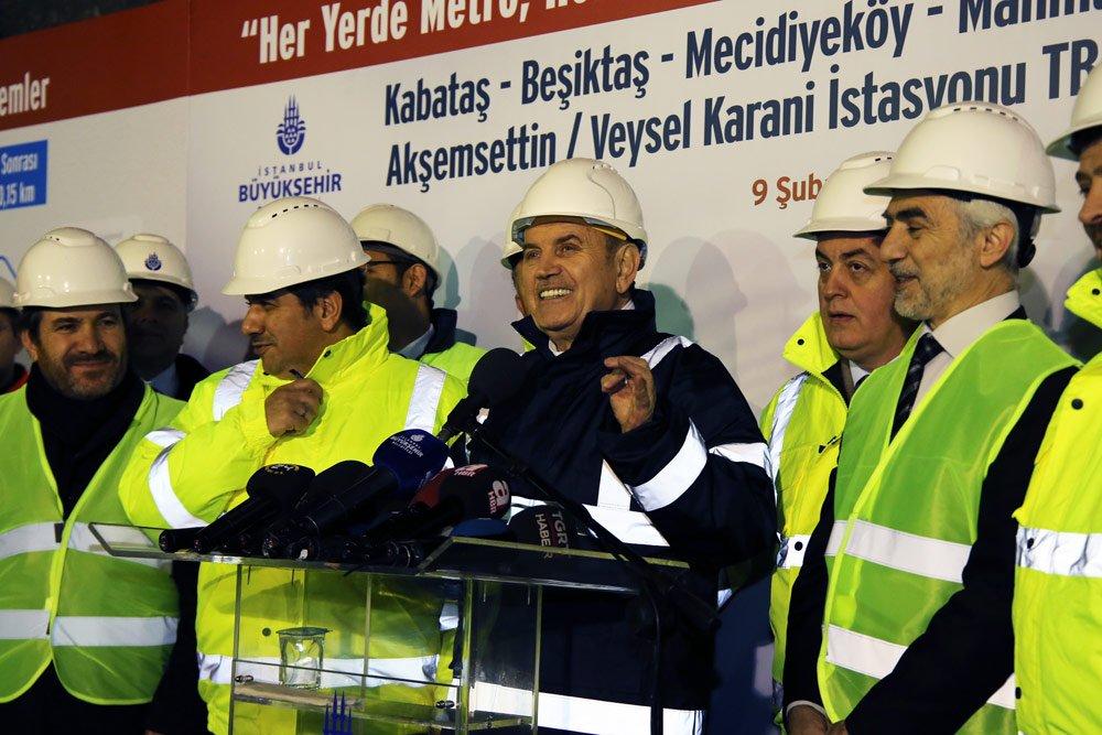 Kabataş-Mahmutbey Metrosu