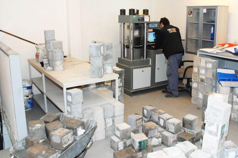 Beton Zemin Laboratuvarı