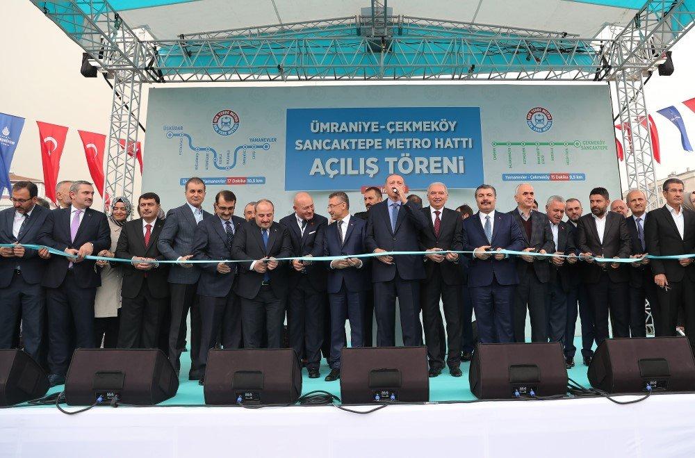 Üsküdar-Çekmeköy-Sancaktepe