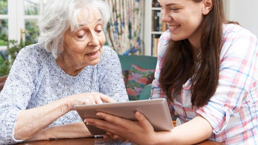 Yaşlıların internet kullanımı