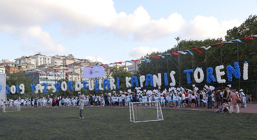 Yaz Spor Okulları spor eğitimi